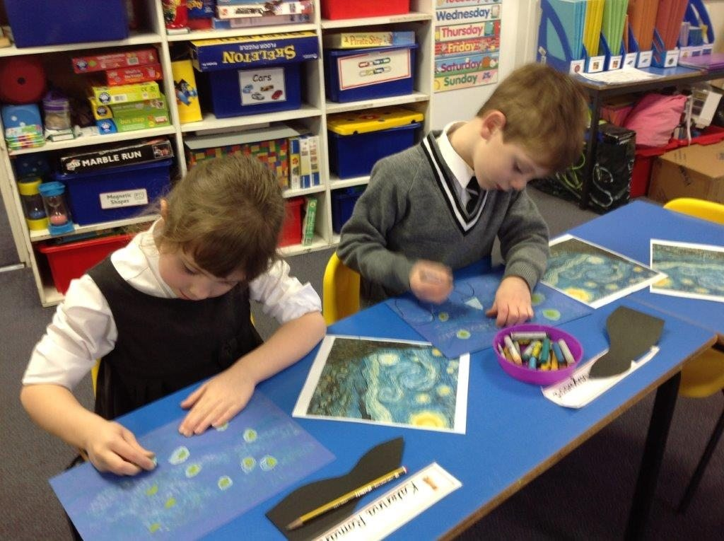 Year 1's Starry Night
