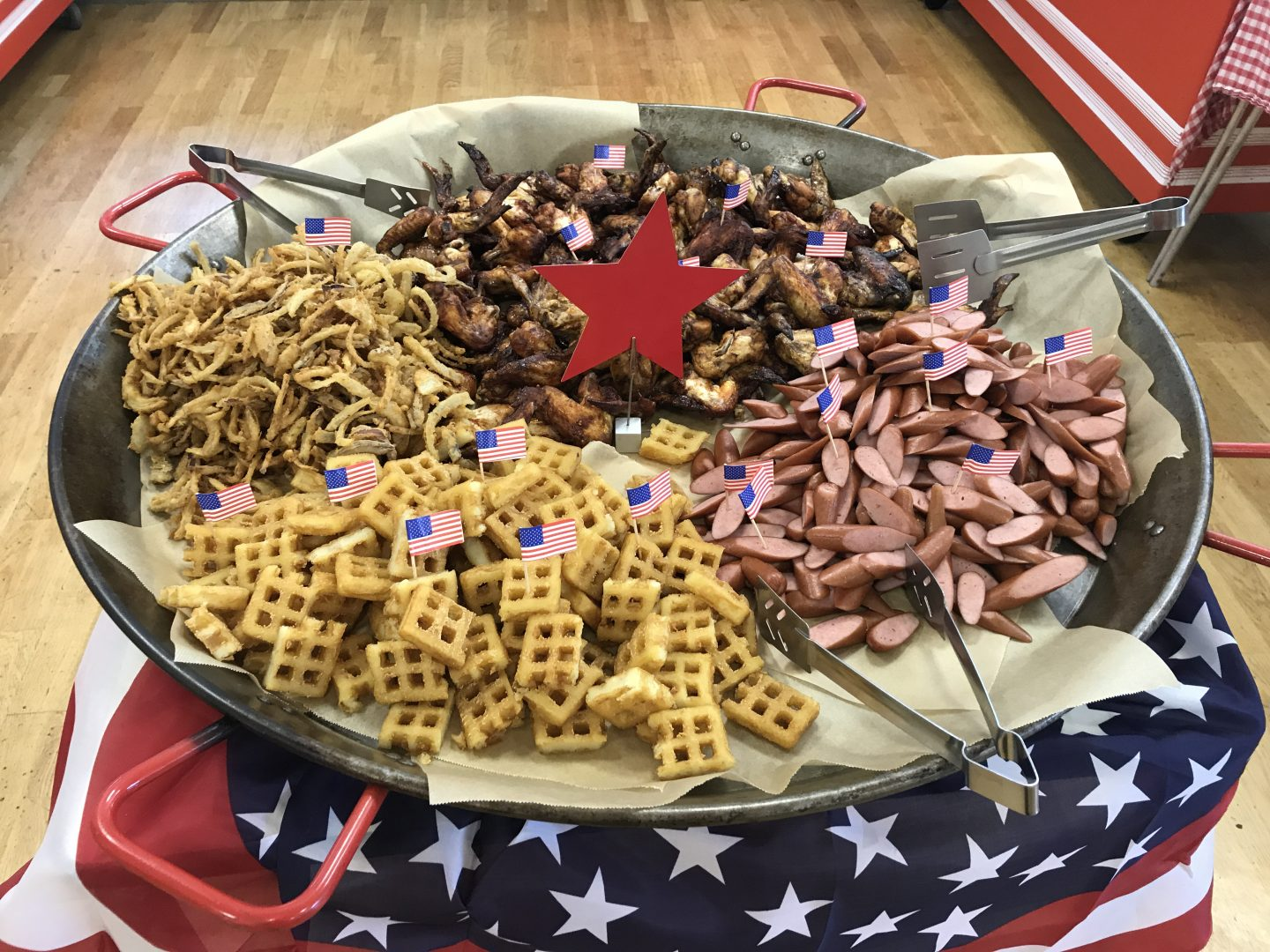 USA Day in the Canteen!