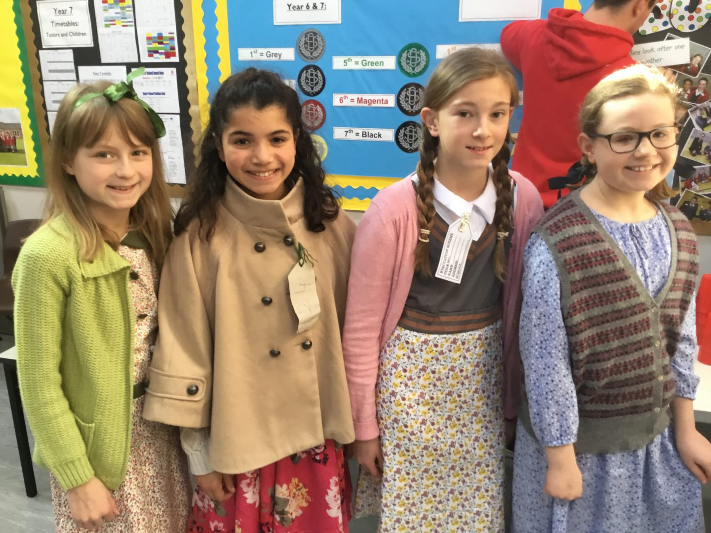Downsend pupils dress up for themed school event